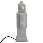Robot lampa - vit, Euro plug