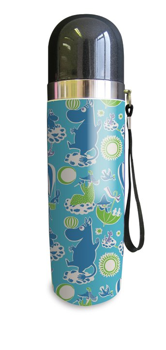 Moomin thermos flask, Tove 100 blue