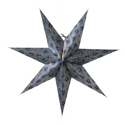 Silvia slim 60, blue silver glitter