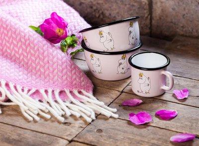 Mumin Emaljmugg 2,5 dl, Snorkfröken rosa