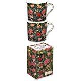 William Morris porslinmugg, Cray, 2-set