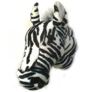 Djurhuvud Zebra