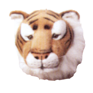 Djurhuvud Tiger