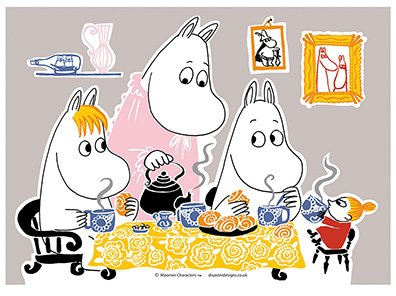 Teaparty - Mumin termos, 5 dl, House of Disaster
