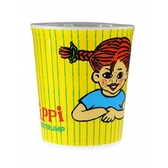 Pippi Longstocking tumbler, Happy face Pippi