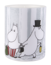 "Moomin lantern candle ""Winter trip"", big"