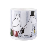 "Moomin lantern candle ""Winter trip"", small"