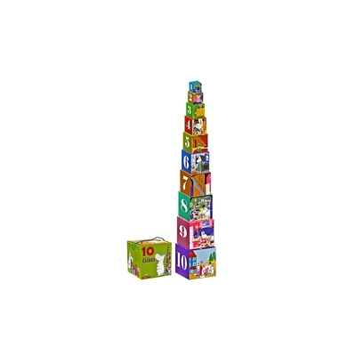 Moomin - 10 stacking blocks