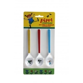 Pippi Longstocking, 3-set spoons
