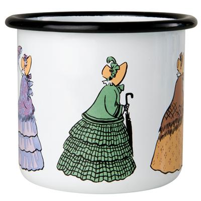Elsa Beskow Aunties emaljmugg 3,7 dl