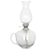 Kerosene lamp, small round with handle