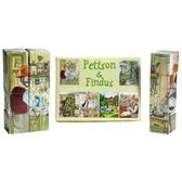 Pettson och Findus - kubpussel, gul