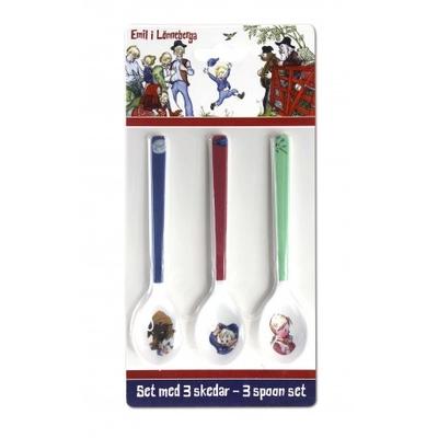Emil, 3-set spoons