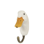 Handcarved hook Duck