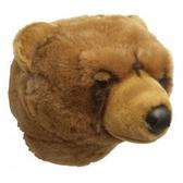 Djurhuvud Grizzly björn