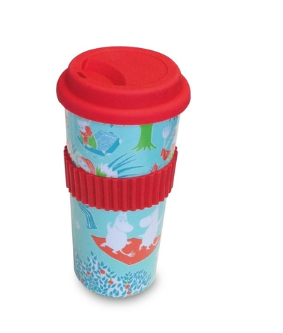 Moomin take-away-mug, retro green