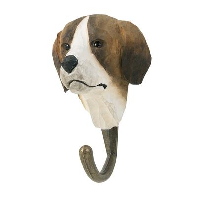 Handsnidad hängare Hund