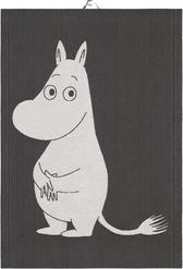 Ekelunds kökshandduk - Big Moomin, svart