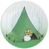 Mumin barntallrik, Camping