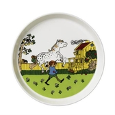 Pippi porcelain plate, Moves in