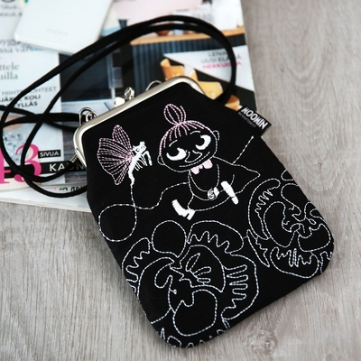Moomin shoulder bag, Little My with butterfly