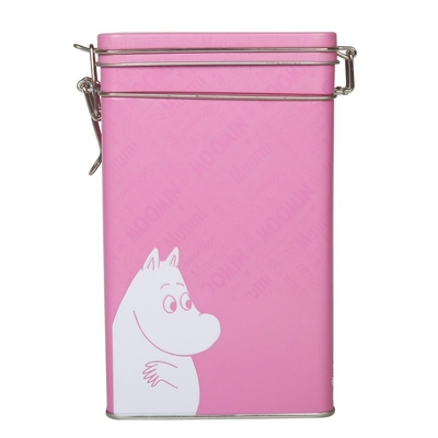 Moomin Coffee Tin pink