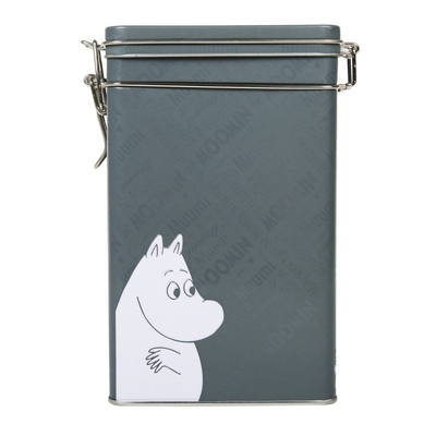 Moomin Coffee Tin gray