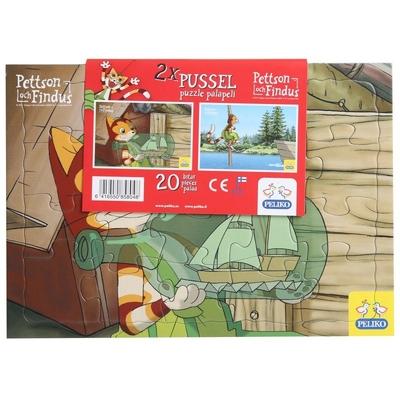 Pettson och Findus pussel 2-pack, Skepp