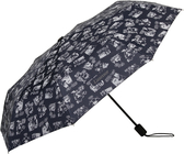 Mumin ihopfällbart paraply, blå