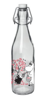 Moomin glas bottle - 0,5 L - Berries