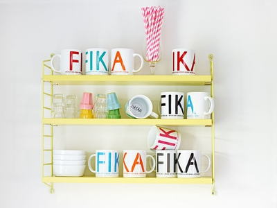 Fika mugg, orange