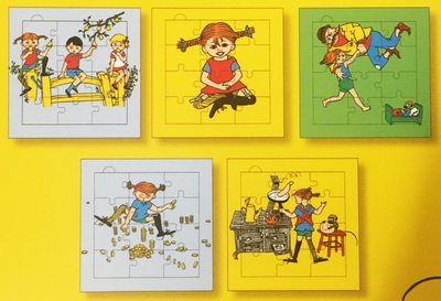Puzzle book Pippi Longstocking