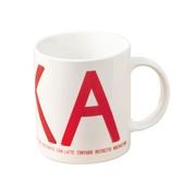 Fika mug, red