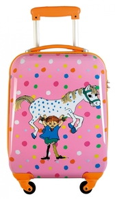 Pippi hard trolley, pink