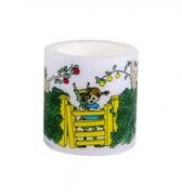 Pippi Longstocking candle, 8 cm - At the gate