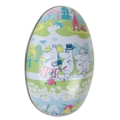 "Moomin Pastel Easter Egg Tin ""The Stroll"""