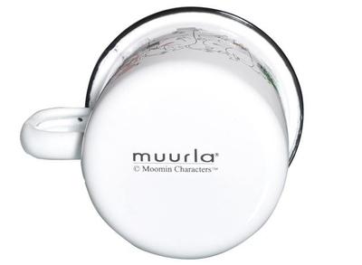 Mumin emaljmugg, 2,5 dl - Mumindalen - Colors