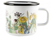 Elsa Beskow Flower People emaljmugg 3,7 dl