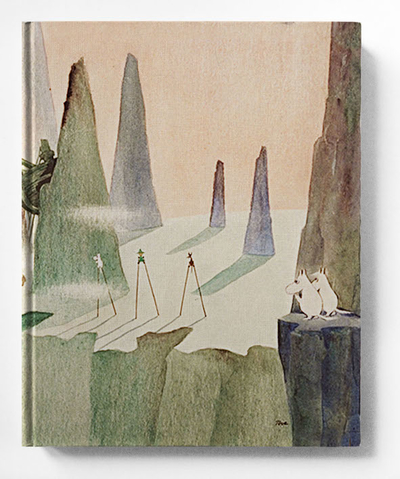 Skrivbok med blanka sidor, Comet in Moominland