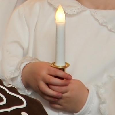 Tärnljus LED, guld