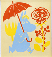 Moomin Limited Edition Print - Snorkmaiden 1956