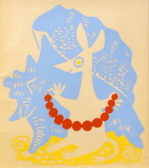 Mumin Print - Sniff 1956, Limited edition