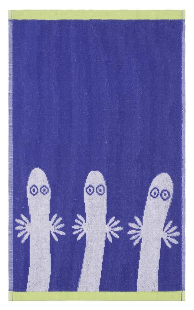 Finlayson Hattifnattarna gästhandduk, blå