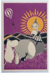 Mumin träkort - Mymlan