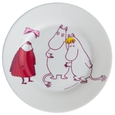 Moomin children's plate, The invisible child