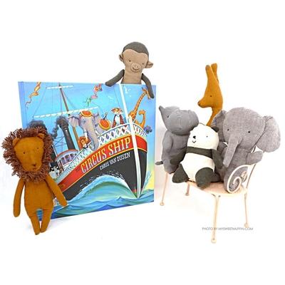 Maileg - Mini flodhäst, Noah's friends