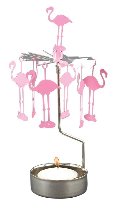 Änglaspel Flamingo, rosa
