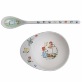 Elsa Beskow feeding set, Peter in Blueberry land