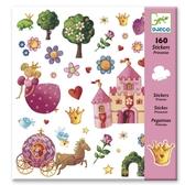 Stickers Prinsessor, 160 st