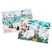 Moomin Puzzle 2-pack (20 & 40 pieces), Moomin and Snorkmaiden + Beach
